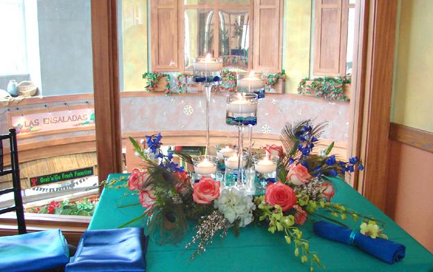 Vibrant Candle Arrangement