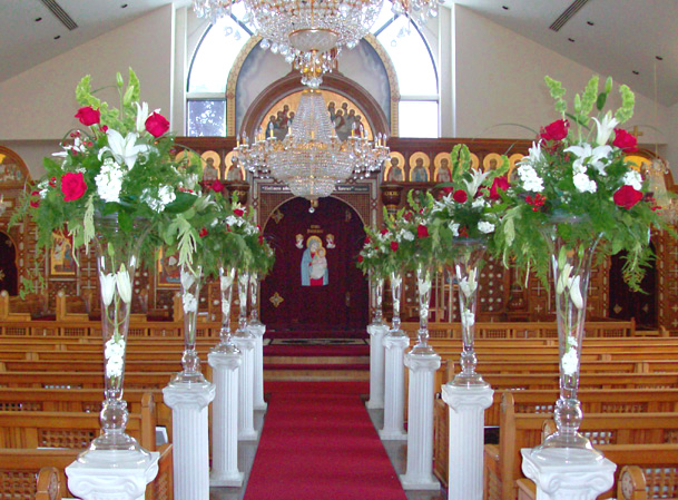 Wedding Aisle Thank you for providing such lovely flowers for my