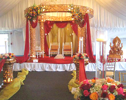 Flowers and special event flowers by phillips florist chicago hindu wedding setting junglespirit Choice Image