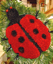 Lady Bug Funeral Set Piece