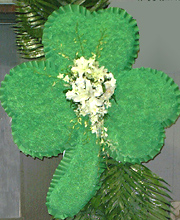 Shamrock Funeral Tribute