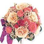 Pink & Blush Flowers Bouquet