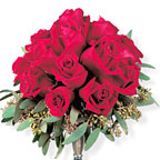 Red Roses Nosegay Wedding Flowers