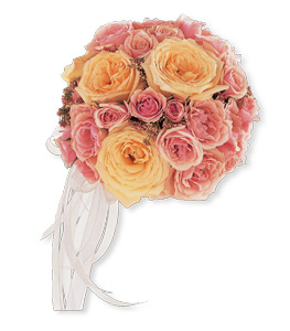 Pink & Blush Roses Bouquet