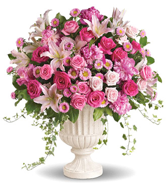 Chicago Flower Delivery on And Lilies Arrangement At Phillip S Flowers Chicago Wedding Flowers